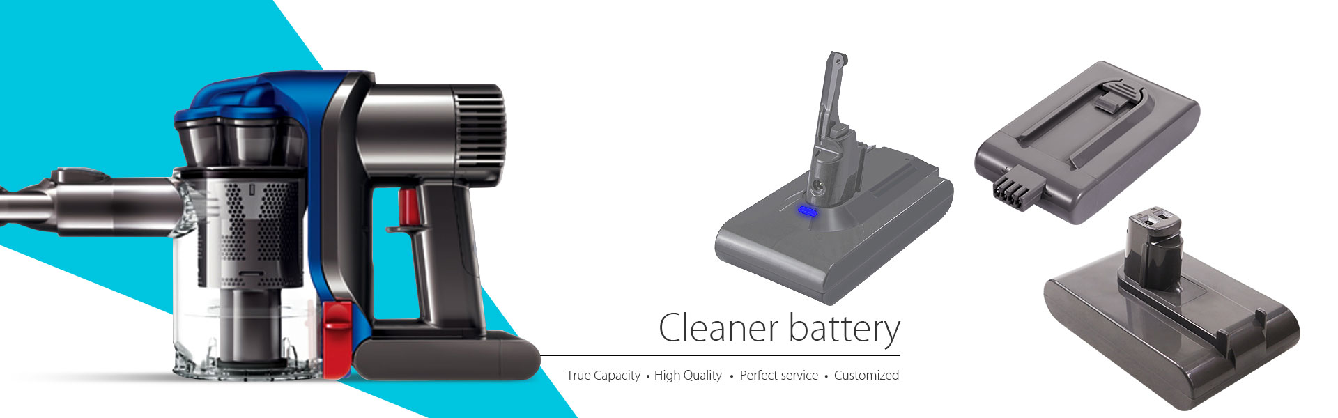 Cleaner battery